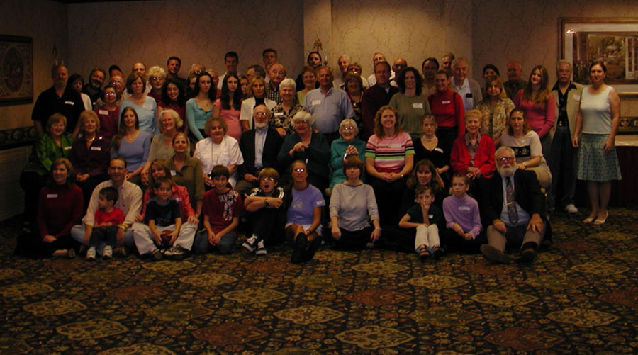 Kenefick Kenvention 2005 Group Portrait by Mike Kenefick in Ohio