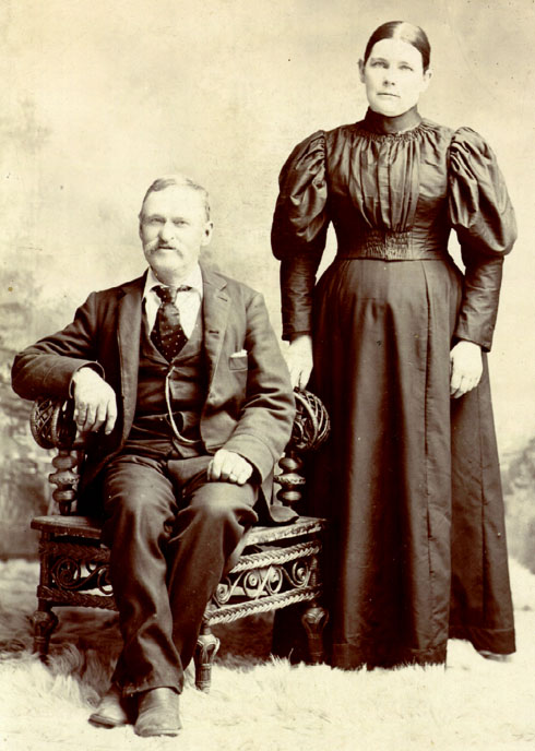 Abraham and Mary Alice (Kenefick) Keenan Russell